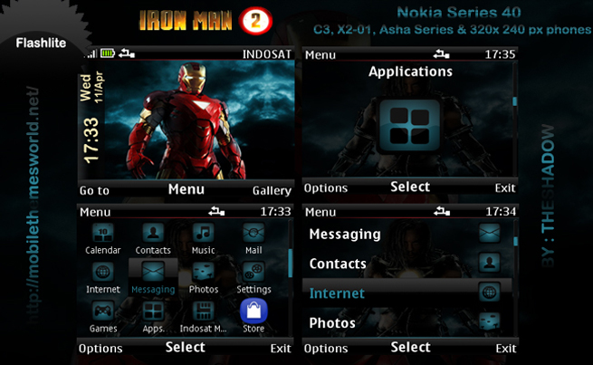 Download tema hp nokia asha 206 terbaru