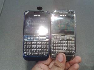 Perbandingan Nokia E63 dan Nokia E71