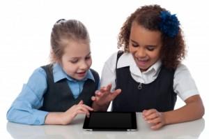 Komputer dalam bentuk tablet PC sebagai sarana hiburan