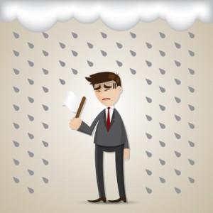Bagi beberapa orang, hujan terus menerus memilik dampak yang tidak baik