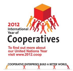Logo International Year of Cooperatives 2012
