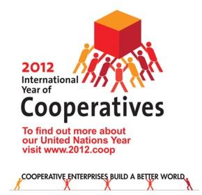 Logo International Year of Cooperatives 2012