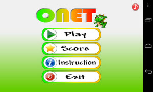 Game Onet di Android