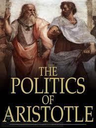 Pengertian politik juga disampaikan oleh Aristotyeles, Buah pikirannye tentang politik memiliki dampak yang besar dalam filosofi politik