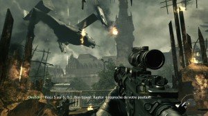 Download Game Perang : Screenshot Call of Duty 3 Modern Warfrae dalam bahasa Perancis
