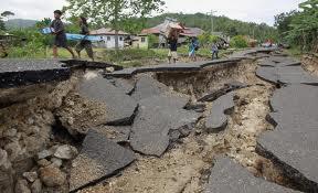 Gambar bencana alam di cebu