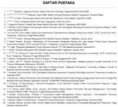 Contoh Daftar Pustaka Dan Bagaimana Penulisannya