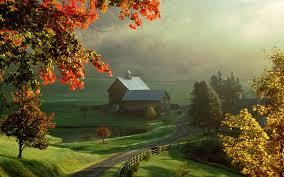 Puisi tentang alam umumnya terinspirasi suasana pedesaan yang asr