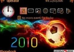 Tema Nokia E63 : tampilan menu awal