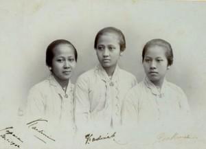 Kartini, Kardinah, Roekmini