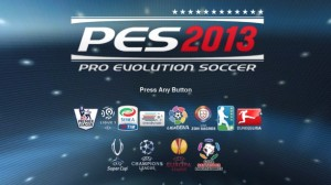 Download game laptop : screenshot tampilan PES 2013