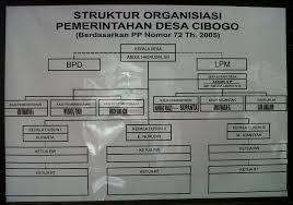 Contoh struktur organisasi dalam masyarakat