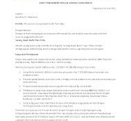 Contoh surat penawaran produk sarung