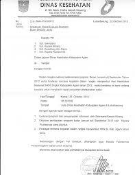 Contoh surat undangan rapat Dinas Kesehatan