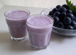 Cara membuat yoghurt anggur smoothie