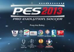 Download game laptop : screenshot tampilan PES 2013